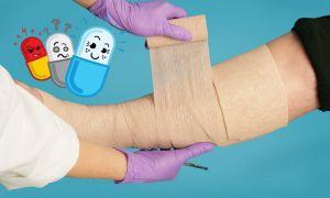 Какие антибиотики принимать при трофической язве нижних конечностей